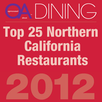 Top 25 Northern California Restaurants